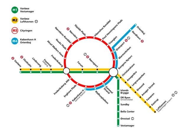Besigtigelse Af Metro Cityringen Med Tof Tof