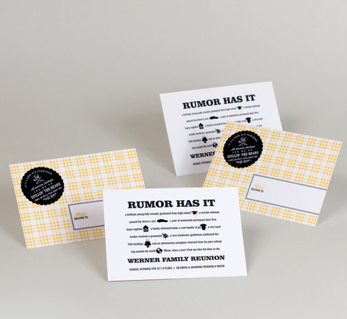 family reunion party invitation yellow plaid.jpg