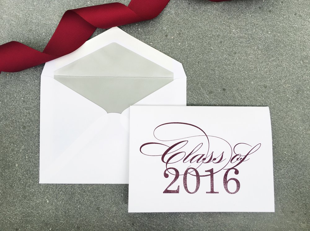 1- maroon and white thermography printed graduation announcement.jpg