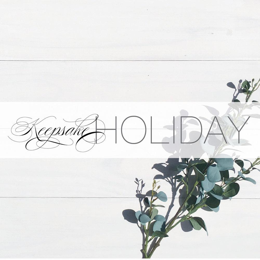 Keepsake Holiday Cards