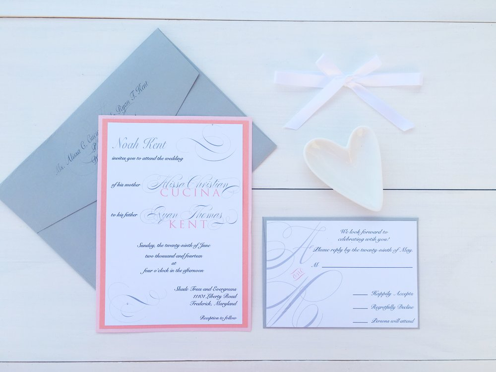 jsd- coral pink gray simple wedding invitation.jpg
