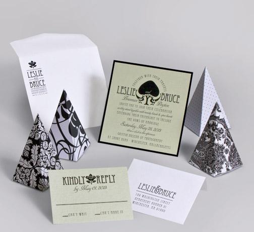 jsd-e modern tree damask black white wedding invitation.jpg