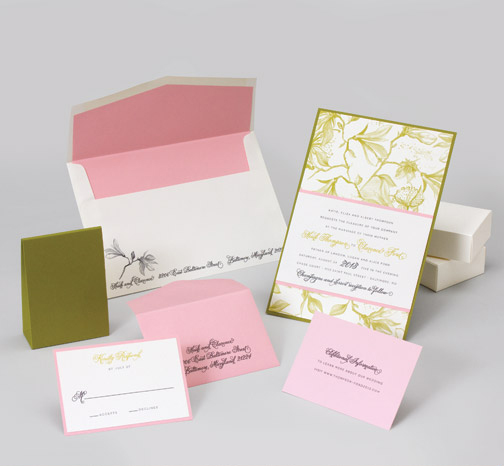 jsd-e pink green floral traditional wedding invitation.jpg