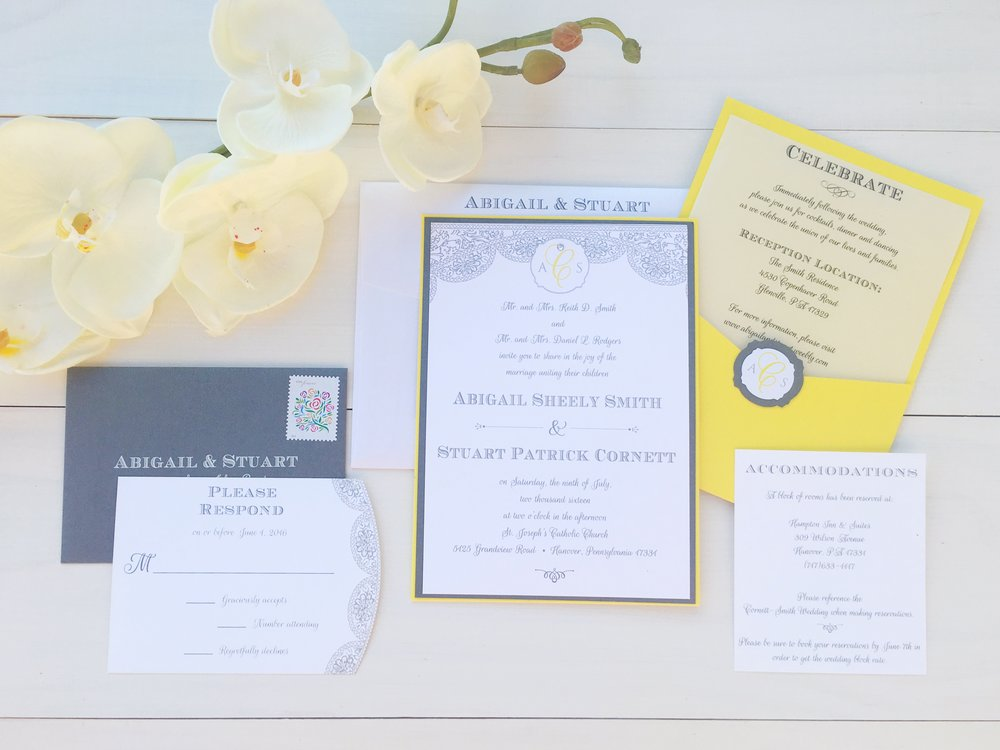jsd thermo print yellow gray wedding invitation.jpg