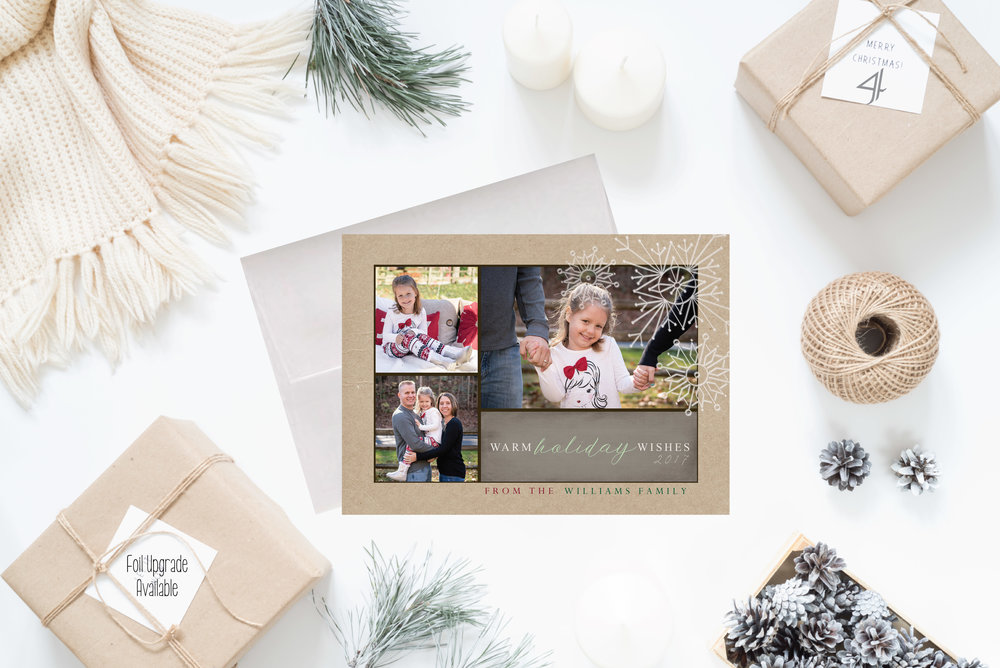 4- Christmas Cards Holiday Cards 2017 JesSmith Designs_Warm Holidays Snow.jpg