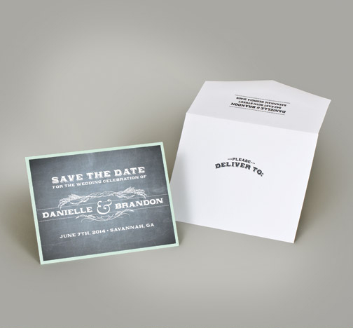 Central PA, York PA, JesSmith Designs, custom, wedding, invitations, bridal, announcements, save the date, baby, hanover, calligraphy, baltimore, wedding invitations, lancaster, gettysburg-e chalkboard theme save the date.jpg