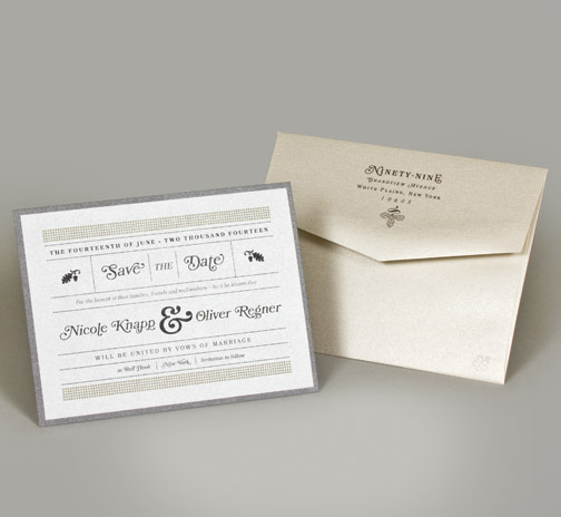 Central PA, York PA, JesSmith Designs, custom, wedding, invitations, bridal, announcements, save the date, baby, hanover, calligraphy, baltimore, wedding invitations, lancaster, gettysburg-e dots modern gray save the date.jpg