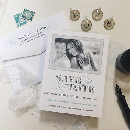 Central PA, York PA, JesSmith Designs, custom, wedding, invitations, bridal, announcements, save the date, baby, hanover, calligraphy, baltimore, wedding invitations, lancaster, gettysburg-e love swirls modern romantic save the date.JPG