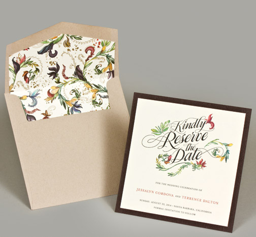 Central PA, York PA, JesSmith Designs, custom, wedding, invitations, bridal, announcements, save the date, baby, hanover, calligraphy, baltimore, wedding invitations, lancaster, gettysburg-e modern floral save the date.jpg