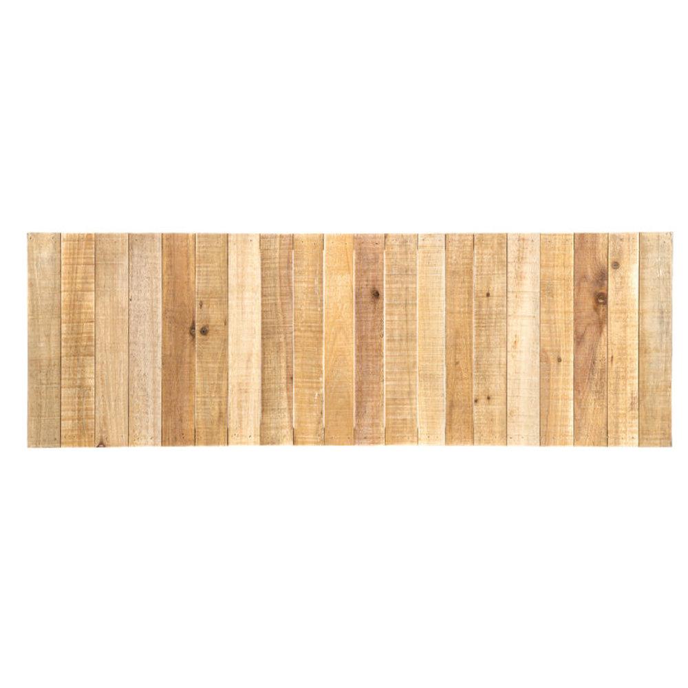 "12""x35"" Rectangle Slatted Wood Panels"