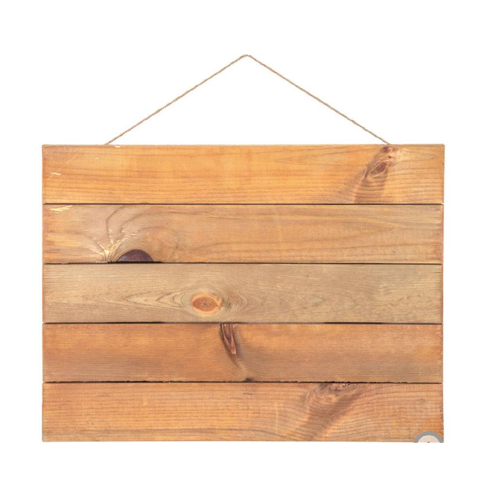 "18""x24"" Rectangle Weather Wood"