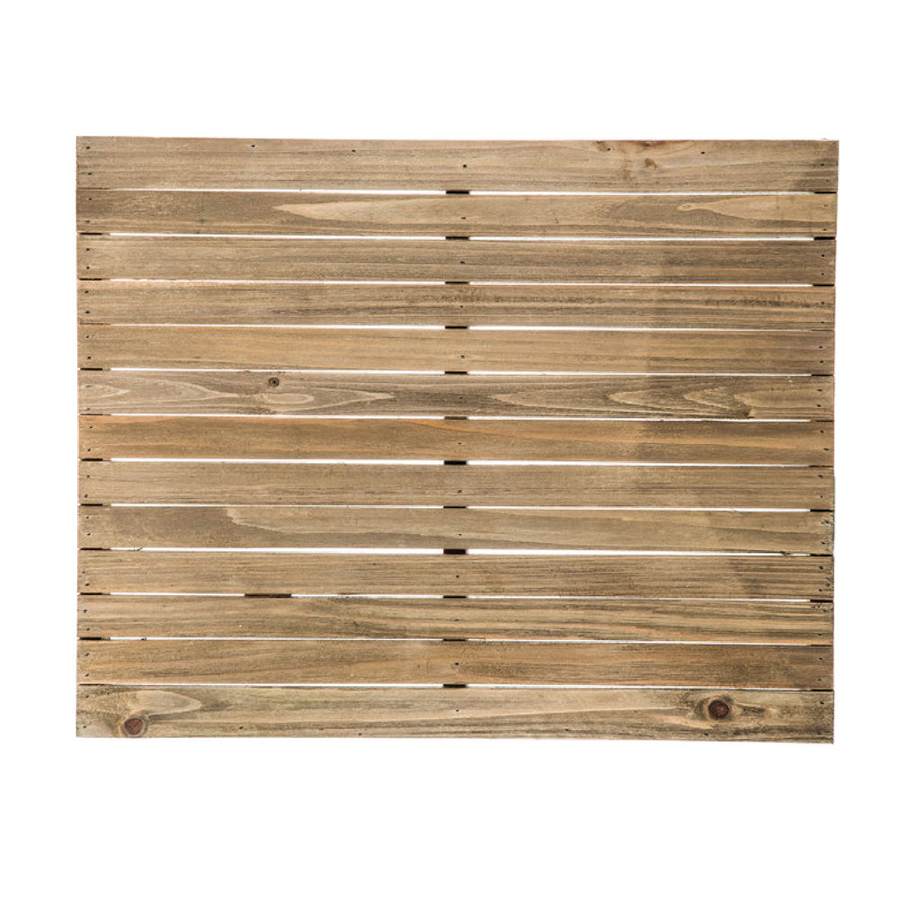 "16""x20"" Rectangle Grooved Wood Panels"