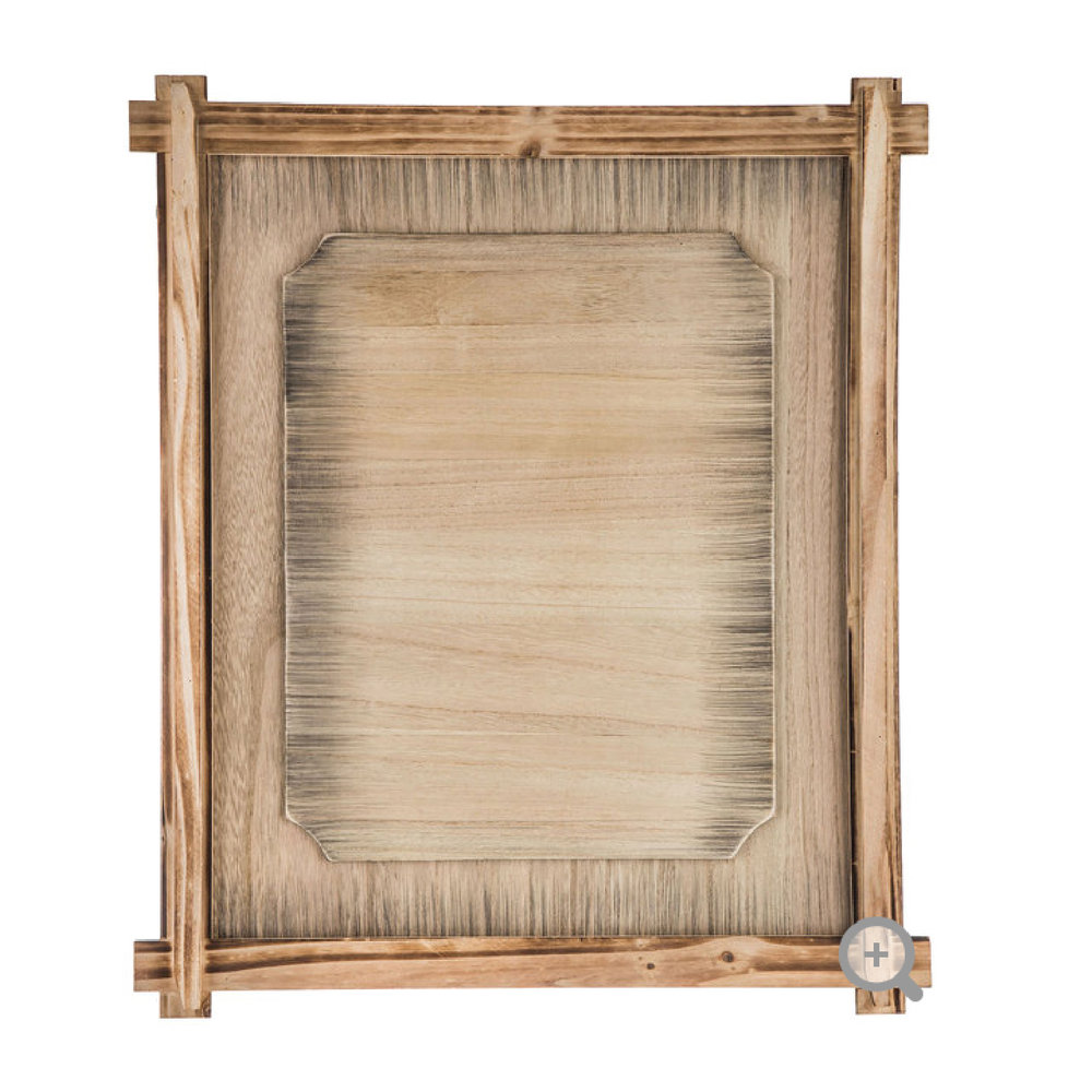 "22""x18"" Wood Panel Board with Frame"