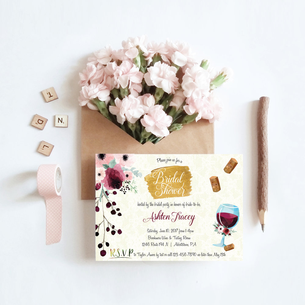 wine-themed shower invitation wfloral b-01.jpg