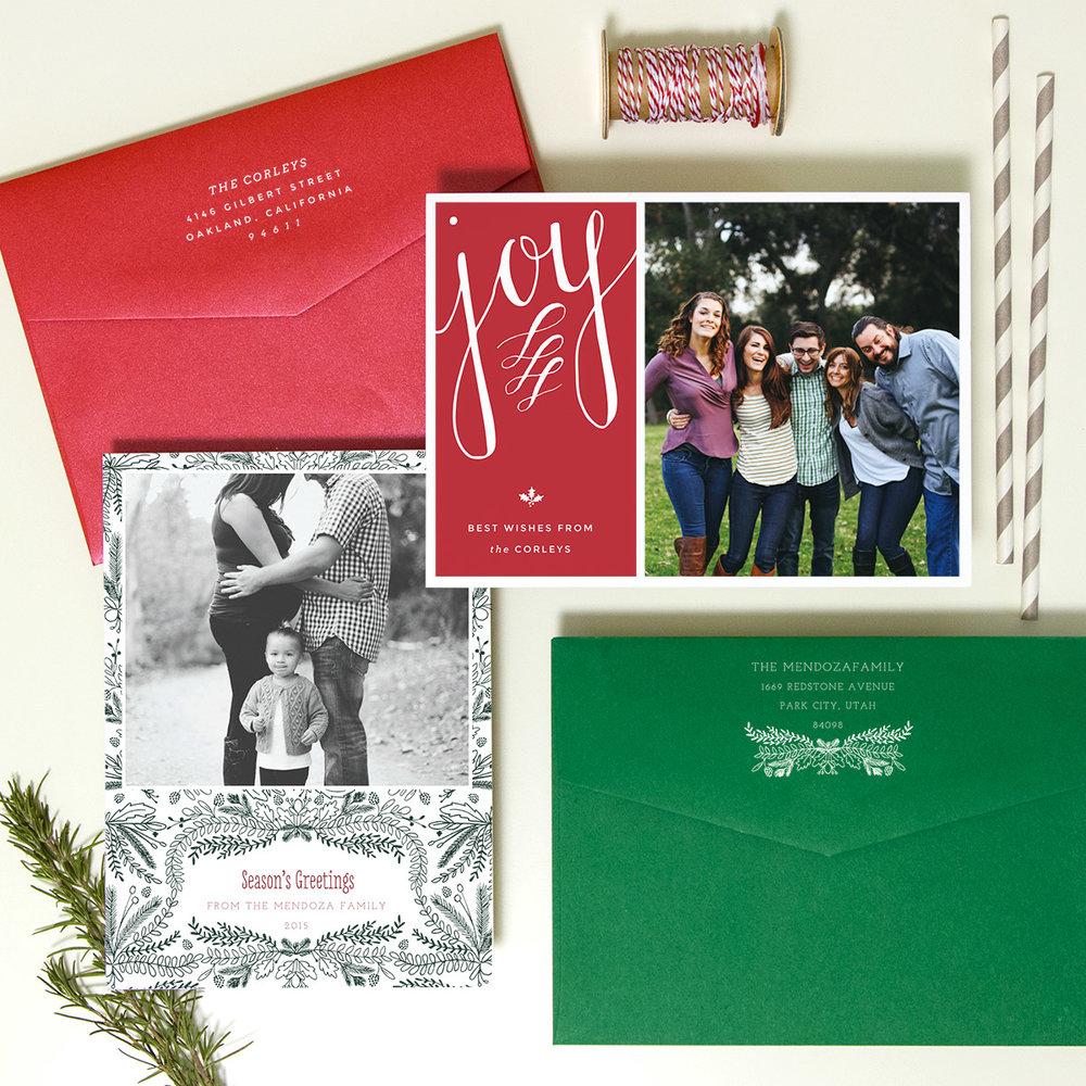 Custom Christmas Cards — JesSmith Designs