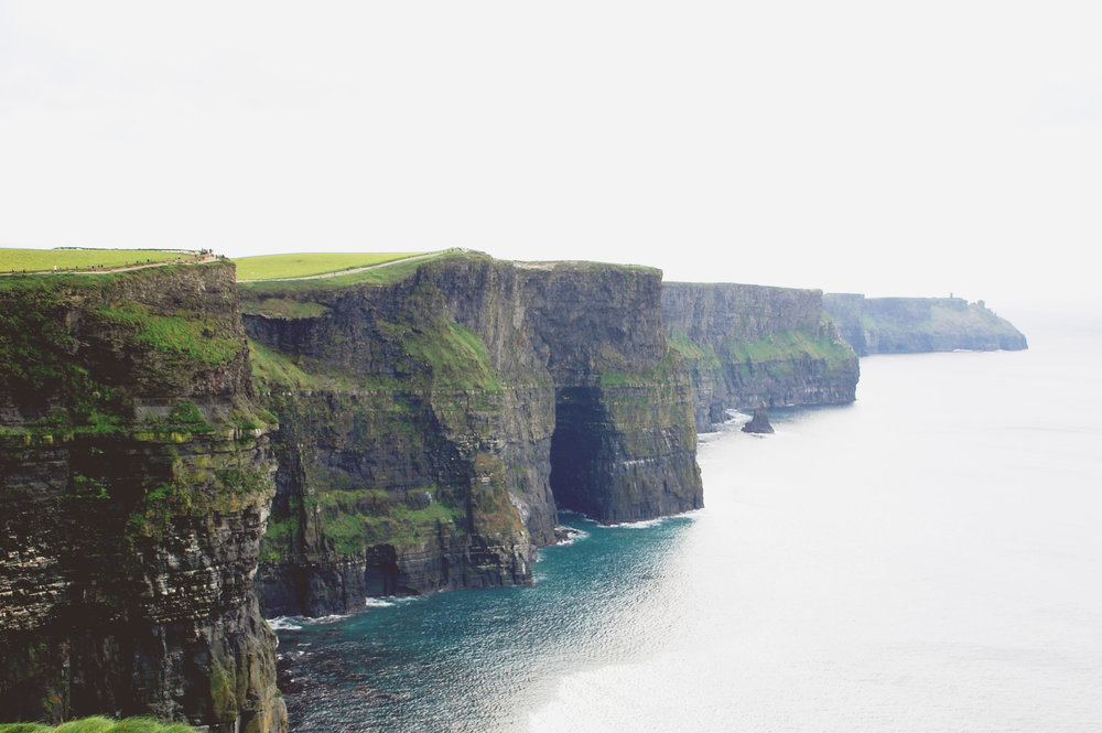 the irish countryside: couny kerry, the cliffs of moher, and 36 hours in dublin