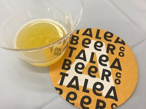 Loved hearing the story of woman+veteran owned @taleabeer at our event with @sterncellar! Co-founded by @nyustern alumna Tara Hankinson, now serving across NYC.