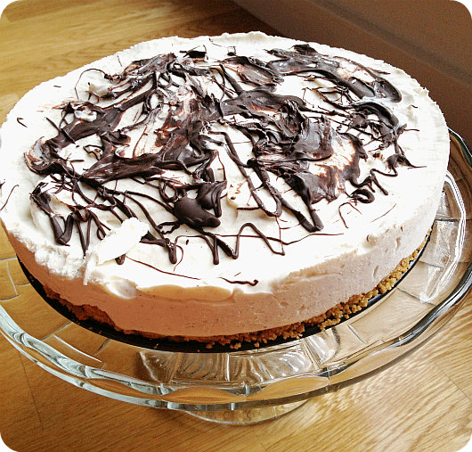 sockerfri frozen cheesecake
