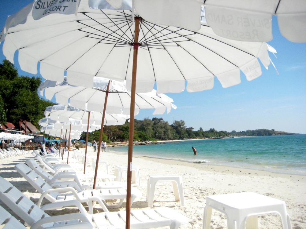 Ljuvlig strand på Koh Samet.