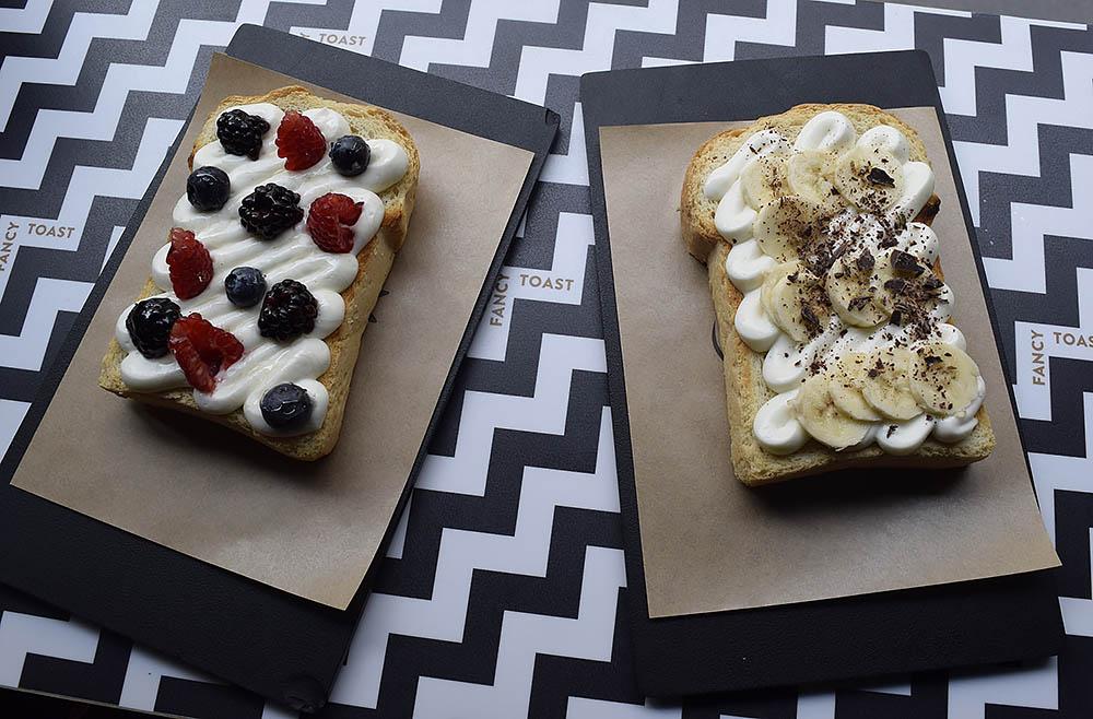 Fancy toast ligger på via Alessandro Volta och är inte stort men så värt ett besök. Toast i alla former; matiga med lax och avocado eller söta med jordnötssmör och banan. Upplägget är halva grejen och detta är hipsterheaven!
