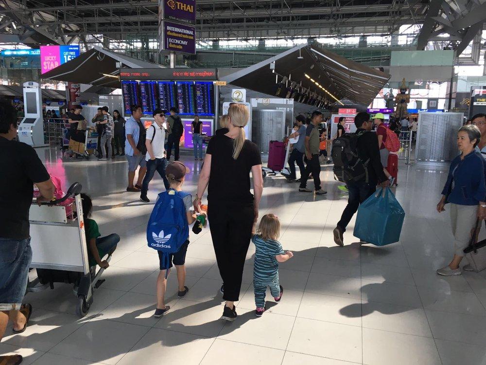 Resa med barn till Thailand