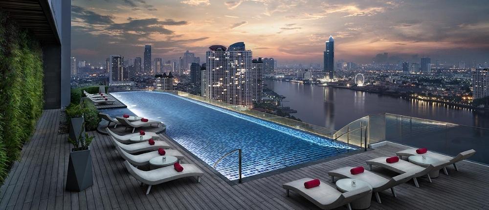 För bästa utsikt över floden Chao Praya, boka in dig på Avani Riverside Hotel.
