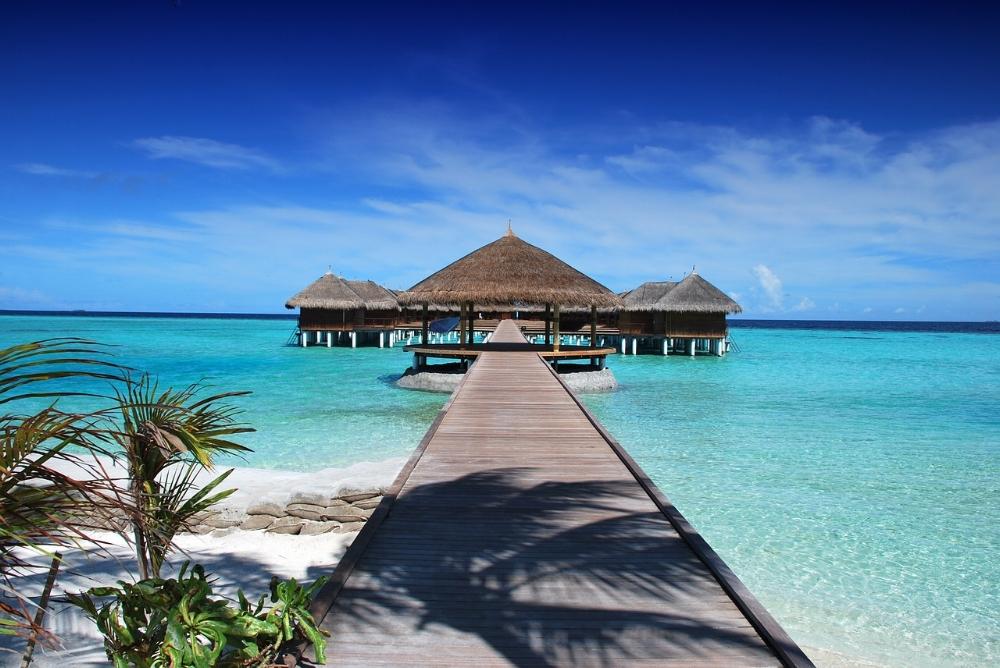 Maldiverna - stannar nog som dröm för de flesta.