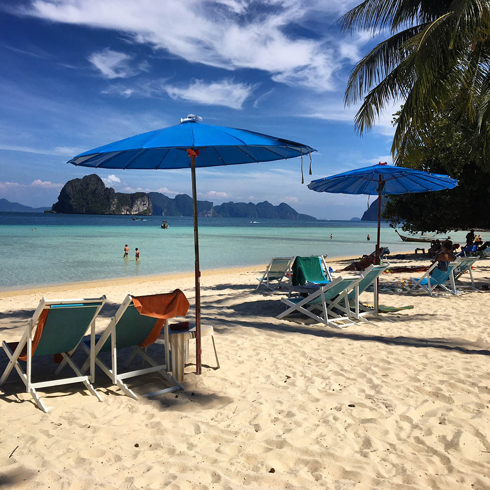 Paradiset Koh Ngai nära Koh Lanta