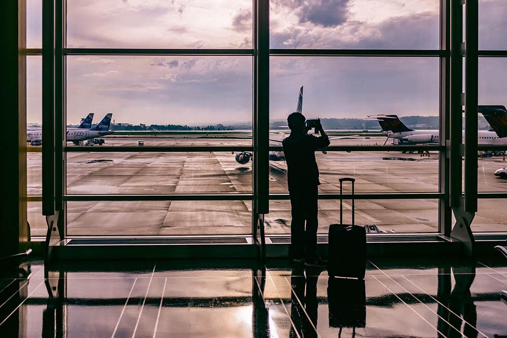 När flyget är försenat