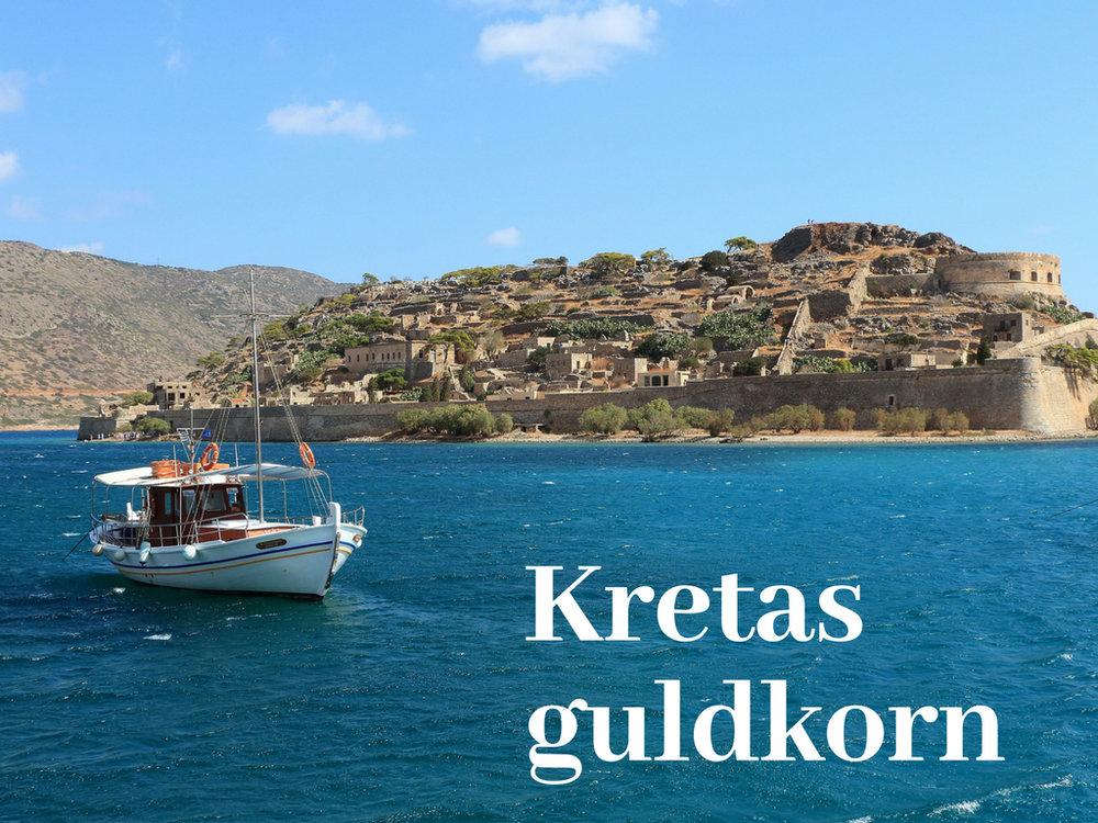 Guldkorn på Kreta