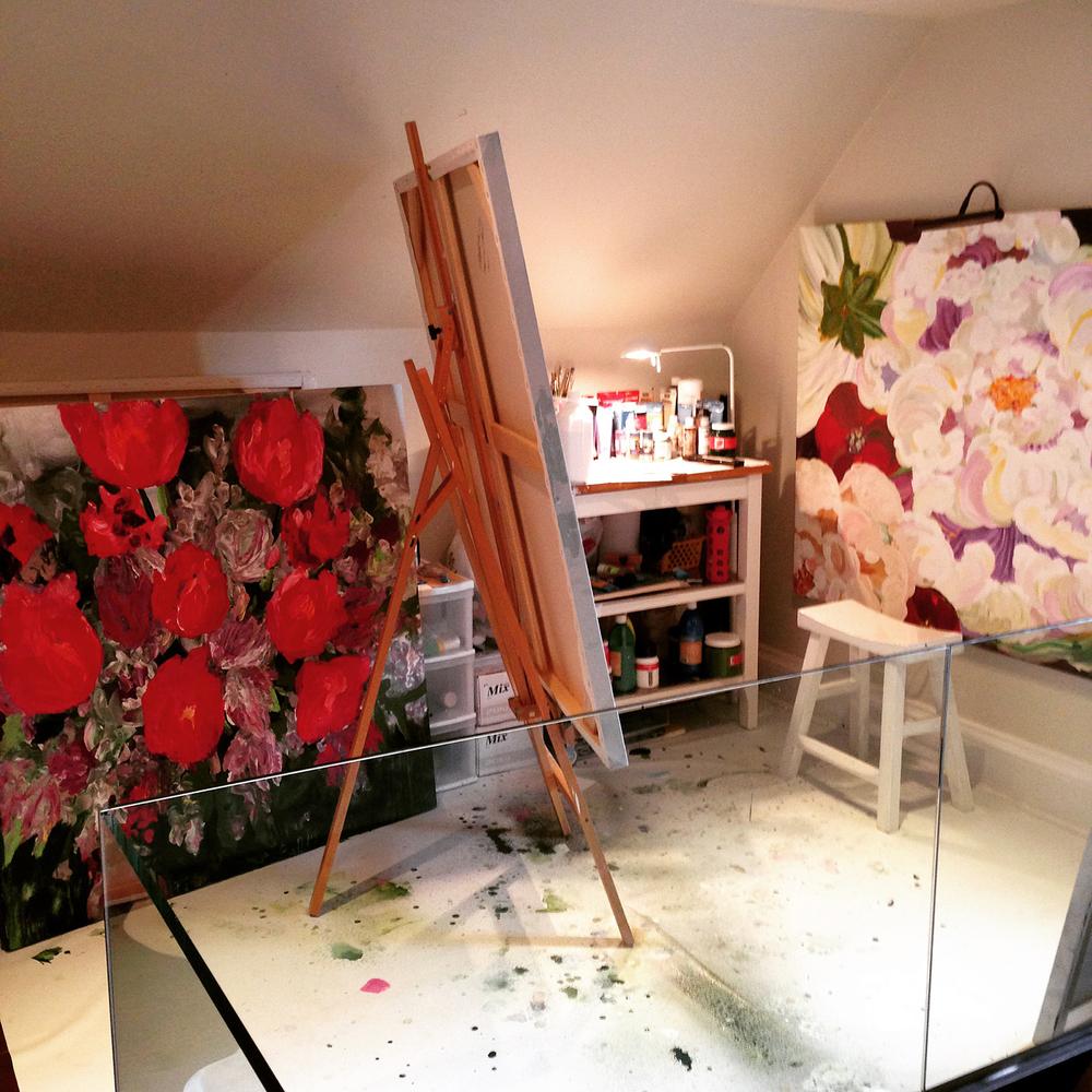 Studio of Rebecca Montemurro. www.rebeccamontemurro.com