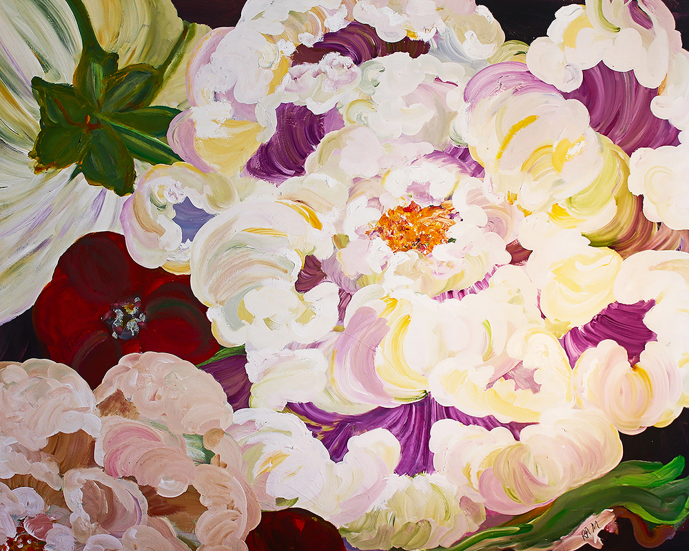 Blooms Amplified (60 x 48)