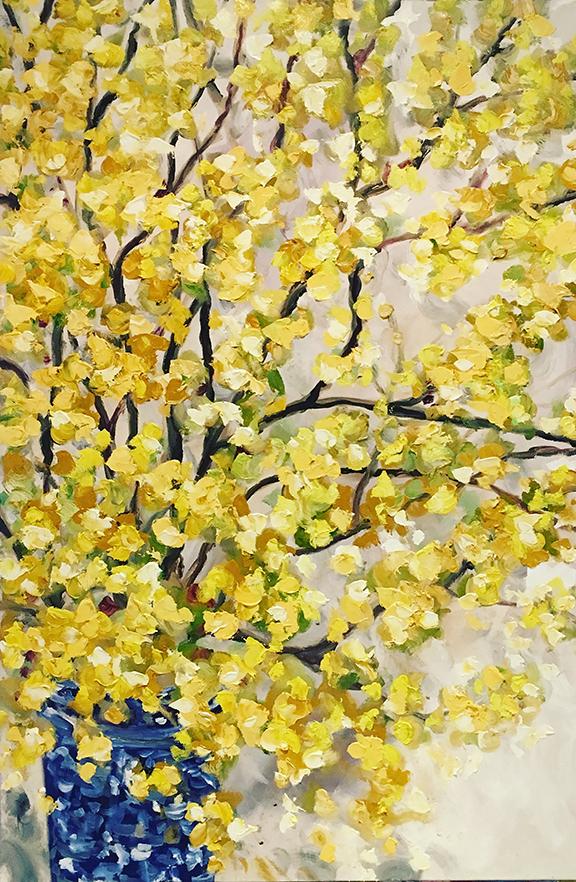 Spring Forward, oil (24 x 36)