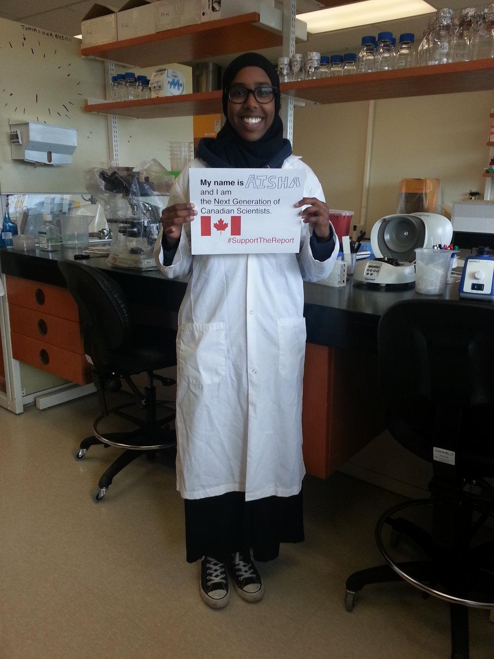 - Aisha BarkhadHonours B.Sc. student in Biochemistry (Microbiology & Immunology)