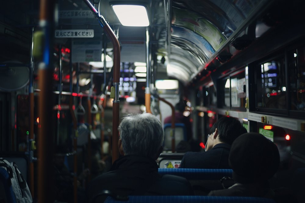 A quiet bus ride, Kyoto, 2017. Shot on Leica M8 with Voigtlander 1.4 35mm