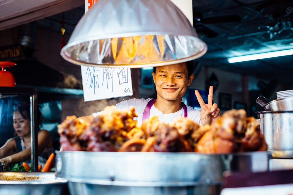 Bangkok-Thailand-Travel-Photography-Smile-People-Fried-Chicken-Vendor-Peace.jpg