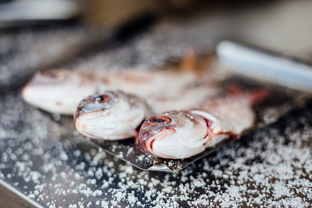 Cooking-Fish-Artesanal-Couisine-Table-Portugal-Travel-Photography