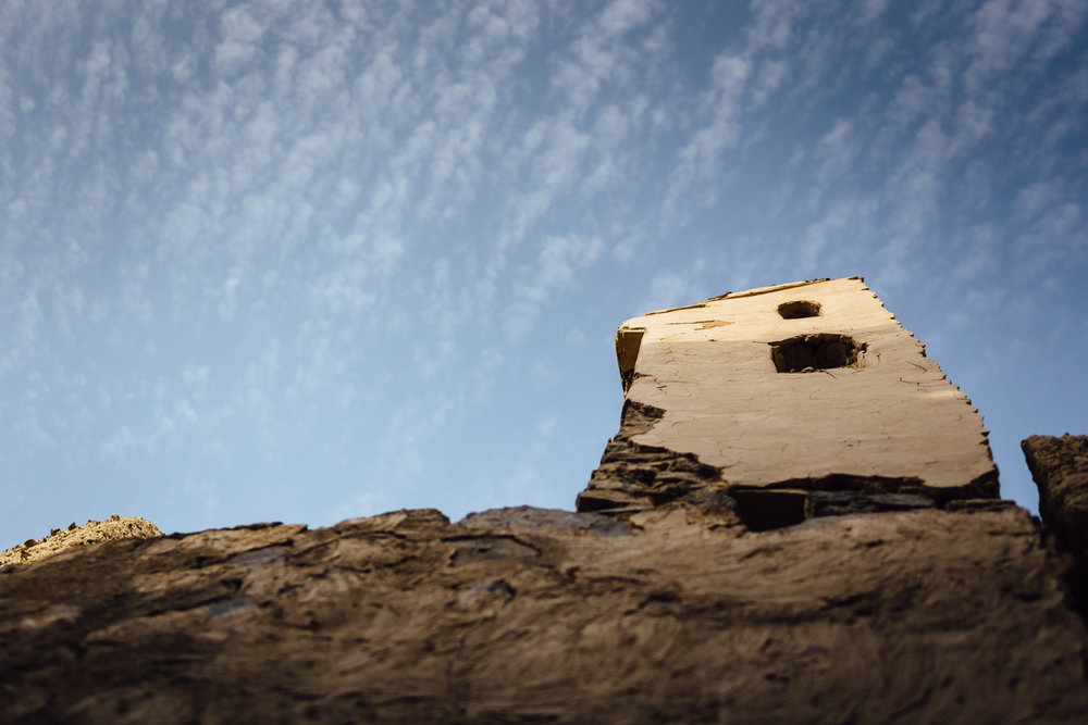 Fort-Light-Sky-Clouds-Ruins-Ancient-Tradition-Village-Oman-Daniel-Durazo-Photography-Durazophotography