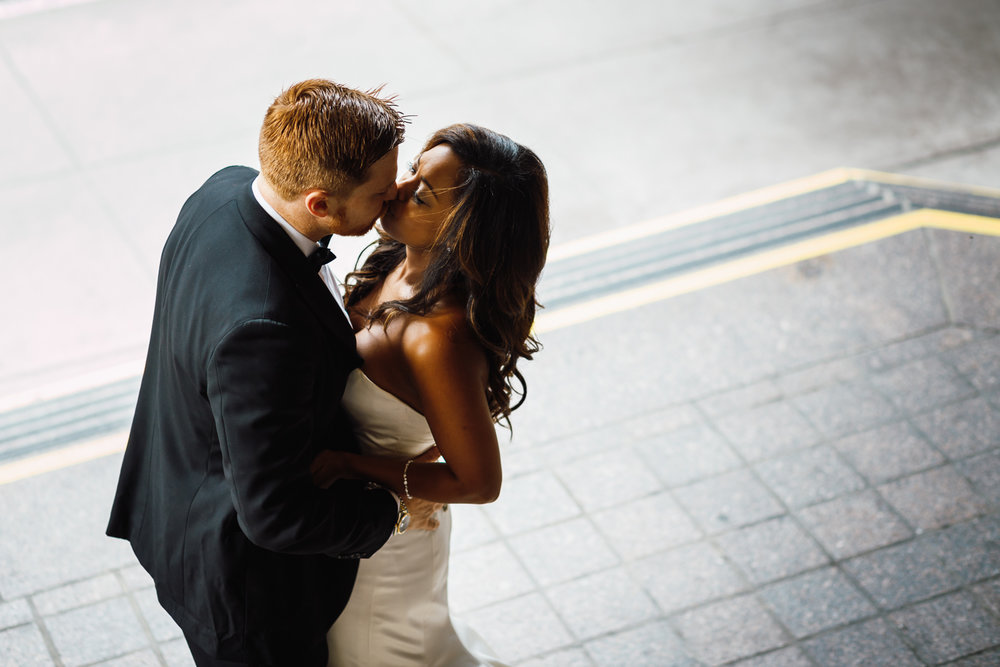 Urban-Bride-Groom-Kiss-First-Look-California-Virginia-DC-Wedding-Daniel-Durazo-Photography.jpg