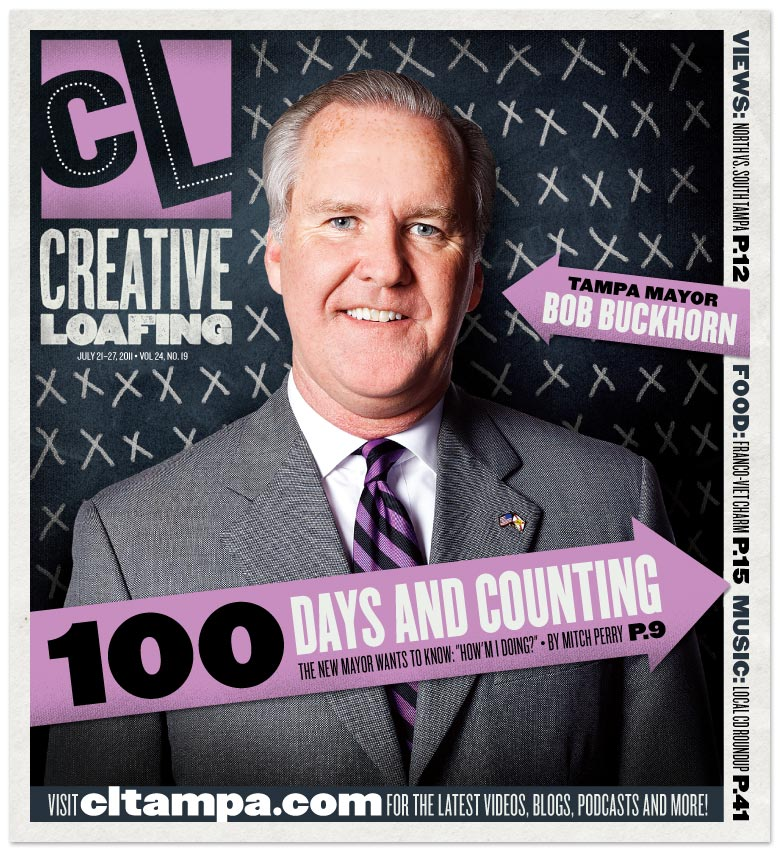 Magazine photography | Tampa Mayor Bob Buckhorn