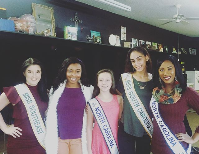 What a great day at #verhonicaryan with these beautiful pageant girls! #winnersmentality #pageantseason