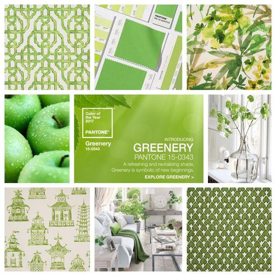 2017年の新色「Greenery(グリーナリー)」