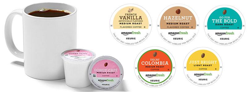AmazonFresh coffee pods
