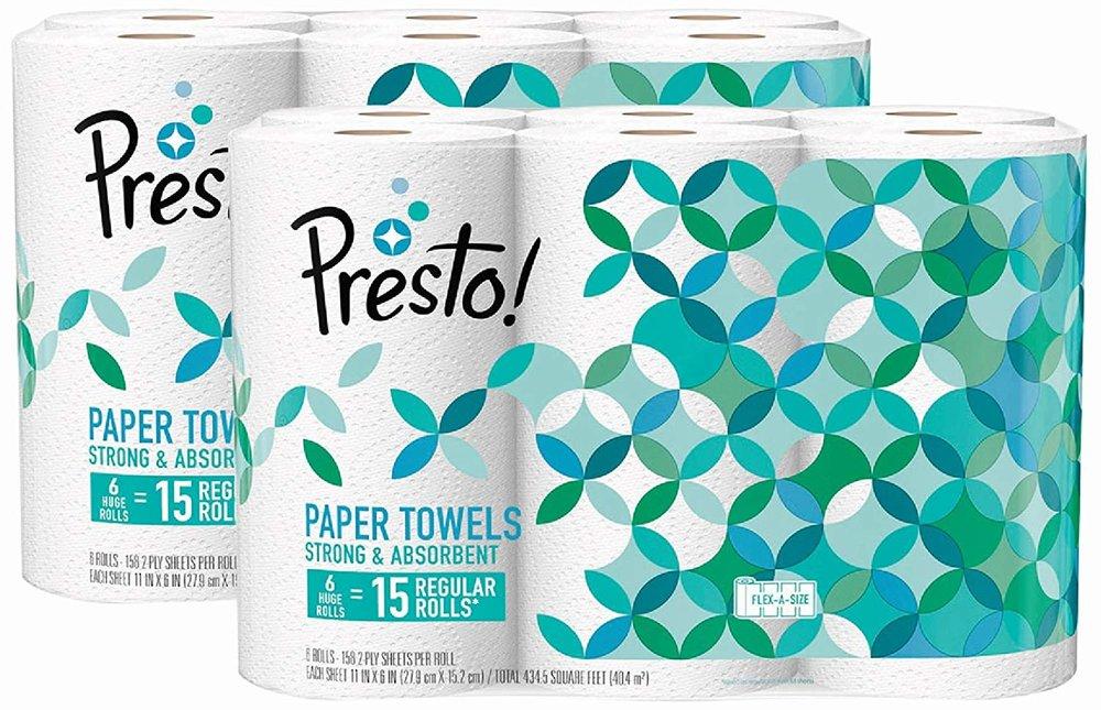 Presto! paper towels