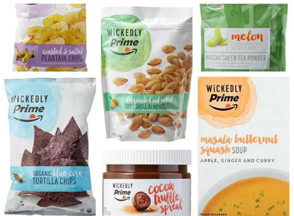 Wickedly Prime snacks
