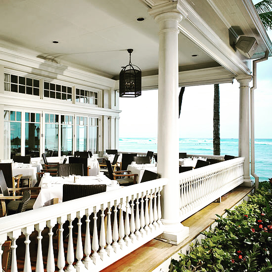 An AMERICAN CLASSIC• with a Fresh Hawaii twist. The Moana Surfrider oozes with charm and nostalgia. Built in 1901 and home to the famous Radio Show 'Hawaii Calls', this property is timeless and boasts some of the best oceanfront rooms. We literally thought our room was on the waves! .  Last  night we dined in the oceanfront Veranda at The Beach House and feasted on local caught seafood with unique flavors and Aloha hospitality. Rocking chairs and a century old Banyan tree make this hotel the perfect spot for a relaxing dose of Vitamin Sea! Check out my stories to see all the tasty things Chef made for us!