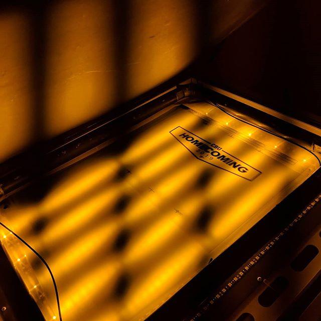 Last check for we exposed the screen.  #teeshirt #illustrator #photoshop #printmaking #layers #texture #process #studio #garmentmanufacturer #manufacturing #instagood #apparelmanufacturing #apparelmanufacturer #apparel #artanddesign #tshirtprinter #roqtheprint #screenprinting #customtshirts #printlife #poweringtheprint #ryonet #roq #Indiana #indytees #indyscreenprinter #pantone #indianapolis #riversidecalifornia
