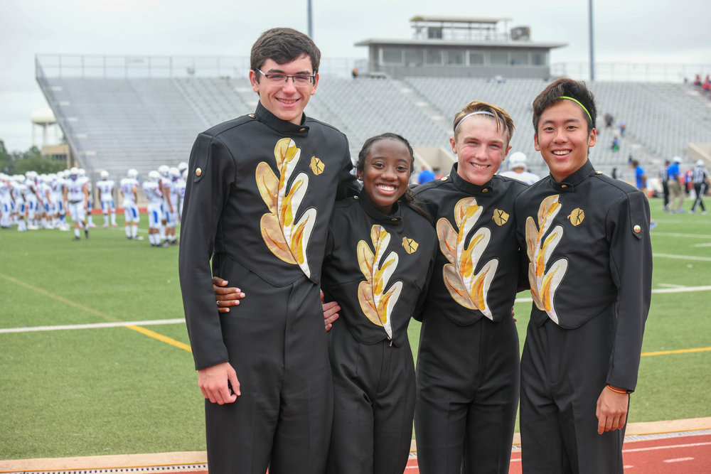 KOHS Marching Band Drum Majors, 2018