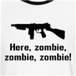 Here zombie funny walking dead shirts and gifts