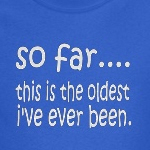 This is The oldest I've been cute and funny kids shirt